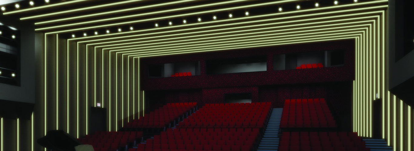 LED Auditorium Lights