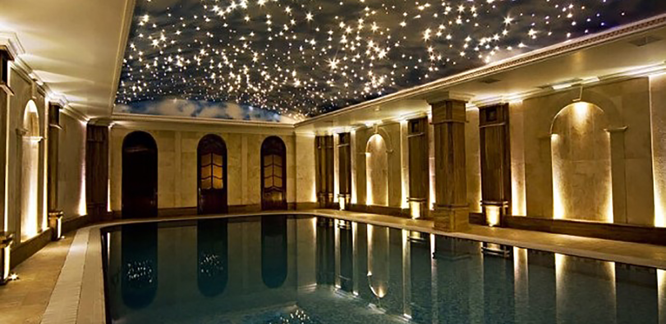 Fiber Optic Star Swimming Pool